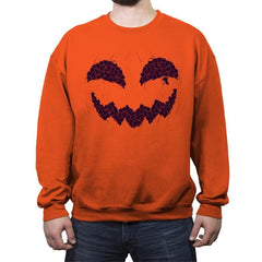 Pumpkin Cat - Anytime - Crew Neck Sweatshirt - Crew Neck Sweatshirt - RIPT Apparel