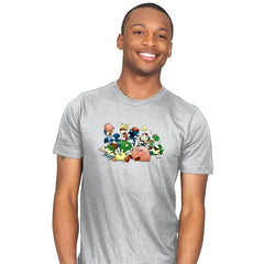 Smash Brawl - Miniature Mayhem - Mens - T-Shirts - RIPT Apparel