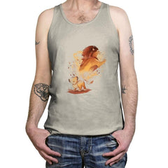 Lion Evolution - Tanktop - Tanktop - RIPT Apparel