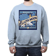 Bluth Moon - Crew Neck Sweatshirt - Crew Neck Sweatshirt - RIPT Apparel