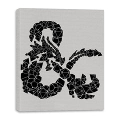 Dice & Dragons - Canvas Wraps - Canvas Wraps - RIPT Apparel