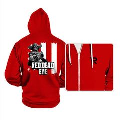Red Dead Eye - Hoodies - Hoodies - RIPT Apparel