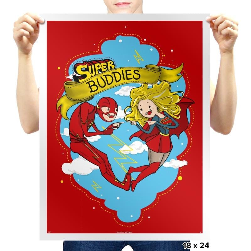 Super Buddies - Prints - Posters - RIPT Apparel