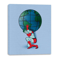Saving the Planet - Canvas Wraps - Canvas Wraps - RIPT Apparel