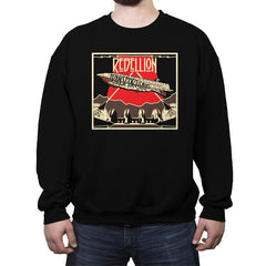 Rebellion - Transport Ship - Crew Neck Sweatshirt - Crew Neck Sweatshirt - RIPT Apparel