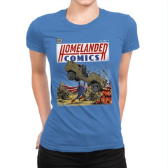 Laser Eyes Comics - Womens Premium - T-Shirts - RIPT Apparel