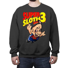 Super Sloth Bros - Crew Neck Sweatshirt - Crew Neck Sweatshirt - RIPT Apparel