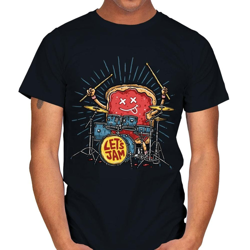 Let's Jam - Mens - T-Shirts - RIPT Apparel