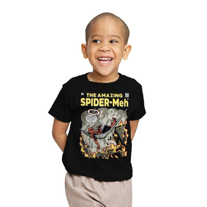 Spider-Meh - Youth - T-Shirts - RIPT Apparel