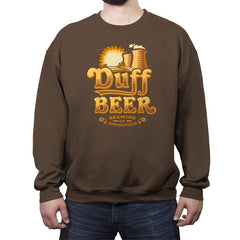 Duff Brewing Co. - Crew Neck Sweatshirt - Crew Neck Sweatshirt - RIPT Apparel
