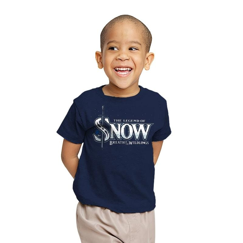 Breath of the Wildlings - Youth - T-Shirts - RIPT Apparel