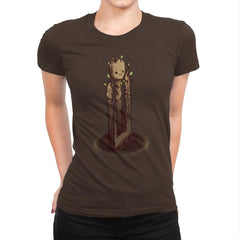 Impossible Root - Art Attack - Womens Premium - T-Shirts - RIPT Apparel