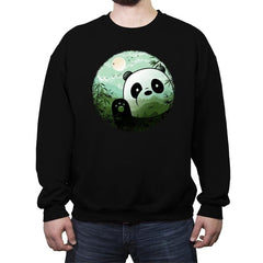 Hello Panda - Crew Neck Sweatshirt - Crew Neck Sweatshirt - RIPT Apparel