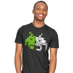Space Invader Anatomy - Mens - T-Shirts - RIPT Apparel
