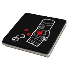 A Flesh Wound - Brick Tees - Coasters - Coasters - RIPT Apparel