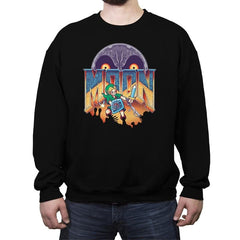 MOON - Crew Neck Sweatshirt - Crew Neck Sweatshirt - RIPT Apparel
