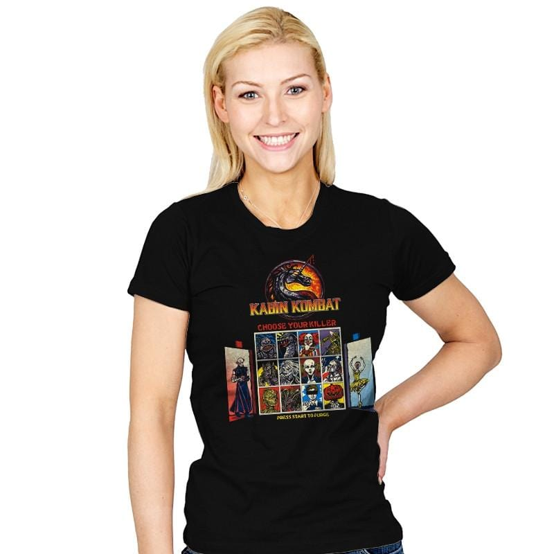 Kombat in the Woods Exclusive - Dead Pixels - Womens - T-Shirts - RIPT Apparel