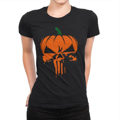 The Pumpkinsher - Womens Premium - T-Shirts - RIPT Apparel