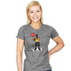 The Crossing Knight - Womens - T-Shirts - RIPT Apparel