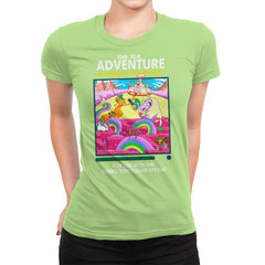 Time for Adventure - Womens Premium - T-Shirts - RIPT Apparel