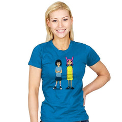 Burger Sisters - Womens - T-Shirts - RIPT Apparel