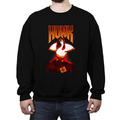 HONK! - Crew Neck Sweatshirt - Crew Neck Sweatshirt - RIPT Apparel