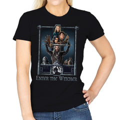 Enter The Witcher - Womens - T-Shirts - RIPT Apparel