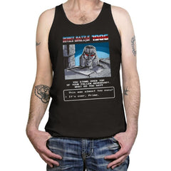 Robot Battle Royale Simulator 1986 - Tanktop - Tanktop - RIPT Apparel