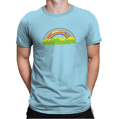 Double Rainbow Exclusive - Mens Premium - T-Shirts - RIPT Apparel