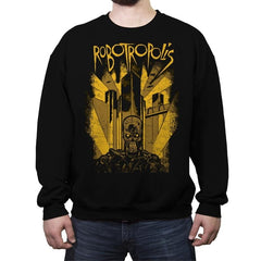Robotropolis - Crew Neck Sweatshirt - Crew Neck Sweatshirt - RIPT Apparel