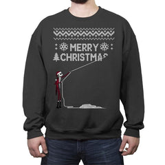 Stolen Christmas - Ugly Holiday - Crew Neck Sweatshirt - Crew Neck Sweatshirt - RIPT Apparel