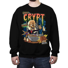 Cookie Crypt Cereal - Crew Neck Sweatshirt - Crew Neck Sweatshirt - RIPT Apparel