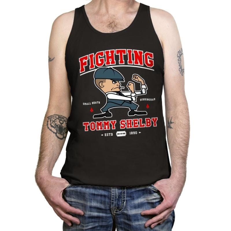 Fighting Shelby - Tanktop - Tanktop - RIPT Apparel