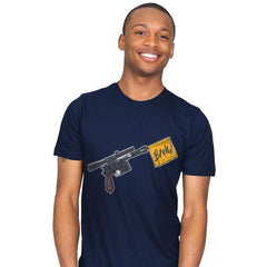 Han Shot First  - Mens - T-Shirts - RIPT Apparel