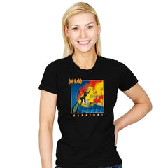 Pyronakatomia - Womens - T-Shirts - RIPT Apparel