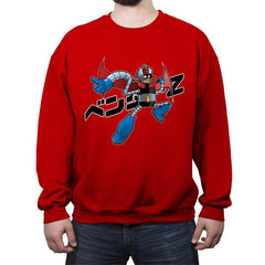 Bend? Zetto!!! - Crew Neck Sweatshirt - Crew Neck Sweatshirt - RIPT Apparel