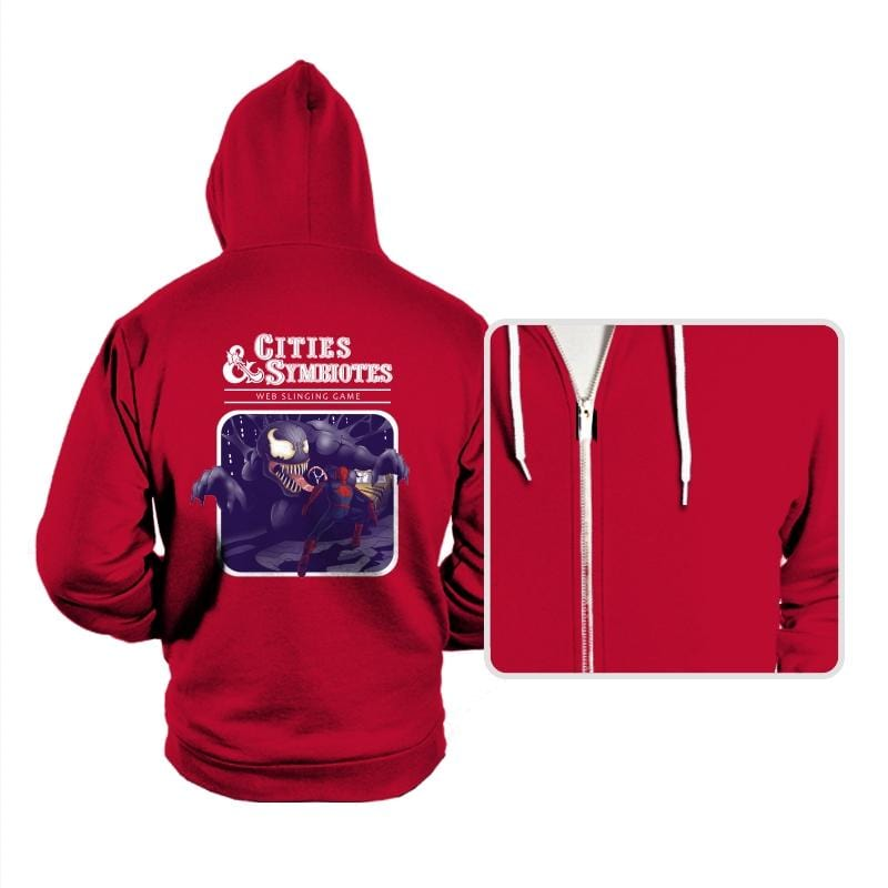 Cities & Symbiotes - Hoodies - Hoodies - RIPT Apparel