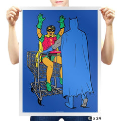 Shopping With The Boy - Prints - Posters - RIPT Apparel