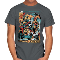H.B. Super Heroes - Best Seller - Mens - T-Shirts - RIPT Apparel