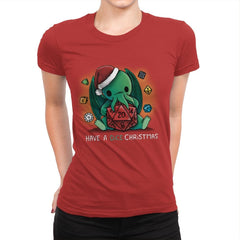 Have a Dice Christmas - Womens Premium - T-Shirts - RIPT Apparel
