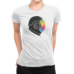 Kodachrome Space - Womens Premium - T-Shirts - RIPT Apparel