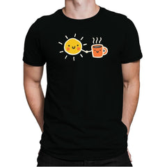 Morning Lovers - Mens Premium - T-Shirts - RIPT Apparel