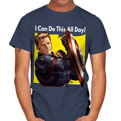 Cap Can Do It! - Mens - T-Shirts - RIPT Apparel