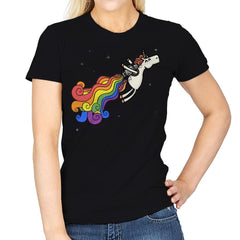 Pride Unicorn Power - Womens - T-Shirts - RIPT Apparel
