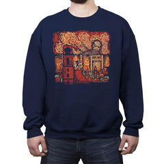 Starry Titan - Crew Neck Sweatshirt - Crew Neck Sweatshirt - RIPT Apparel