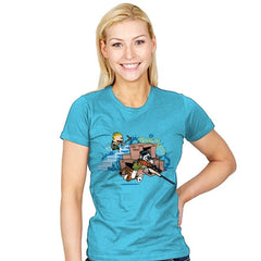 Fort Night - Womens - T-Shirts - RIPT Apparel