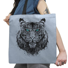 Tiger Gaze - Back to Nature - Tote Bag - Tote Bag - RIPT Apparel