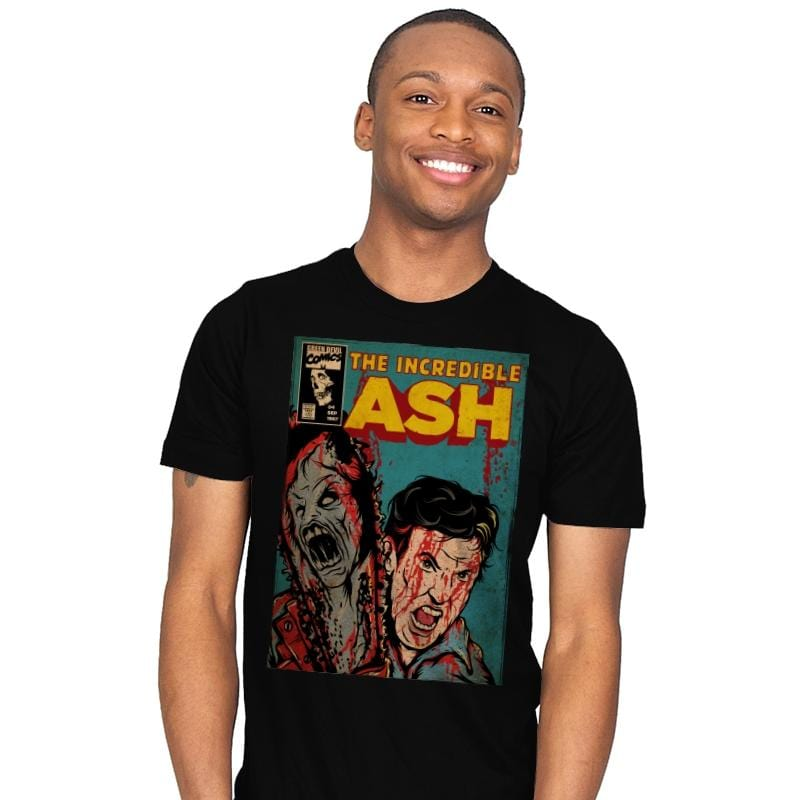 The Incredible Ash - Mens - T-Shirts - RIPT Apparel