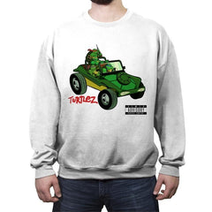 Turtlez - Crew Neck Sweatshirt - Crew Neck Sweatshirt - RIPT Apparel