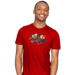 Super BFFs - Miniature Mayhem - Mens - T-Shirts - RIPT Apparel